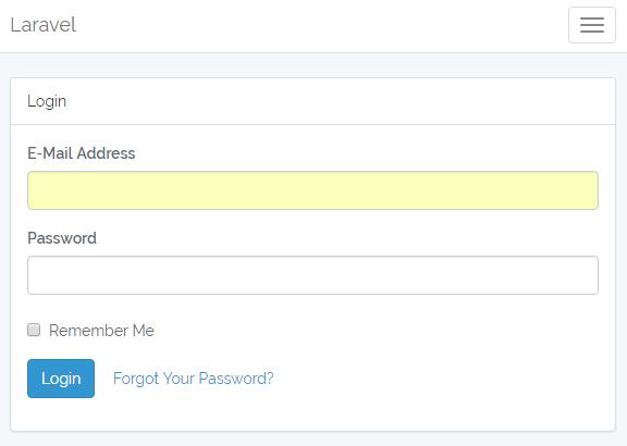 Laravel5.5 ログイン認証