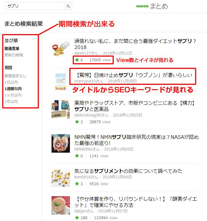 ブログネタの宝庫Naver