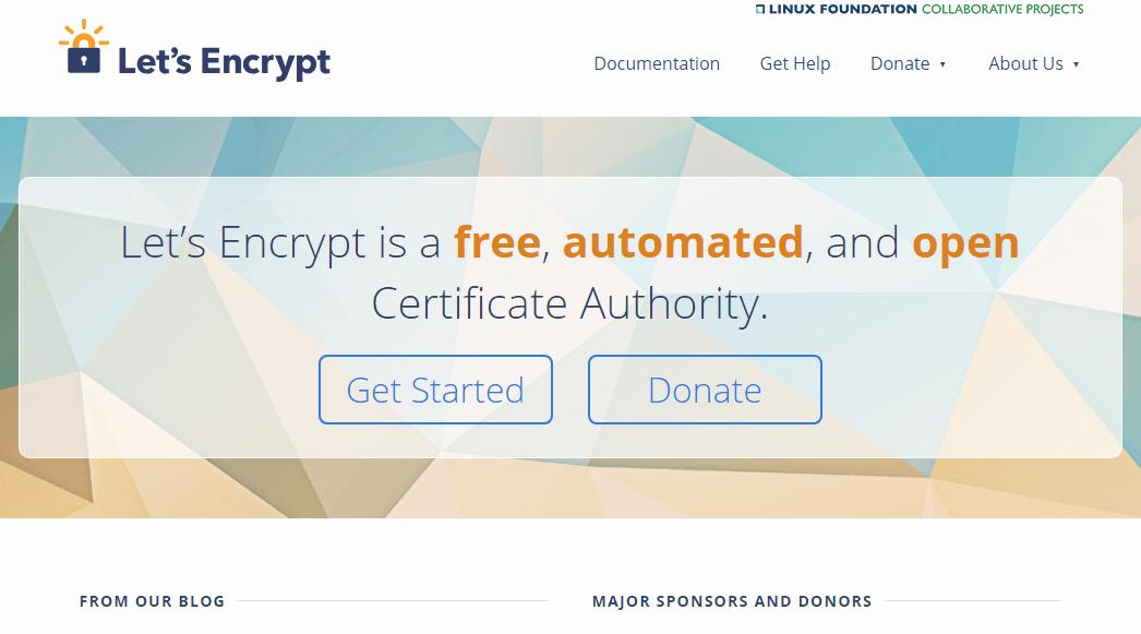 今やSSL/TLSは無料で導入出来る時代